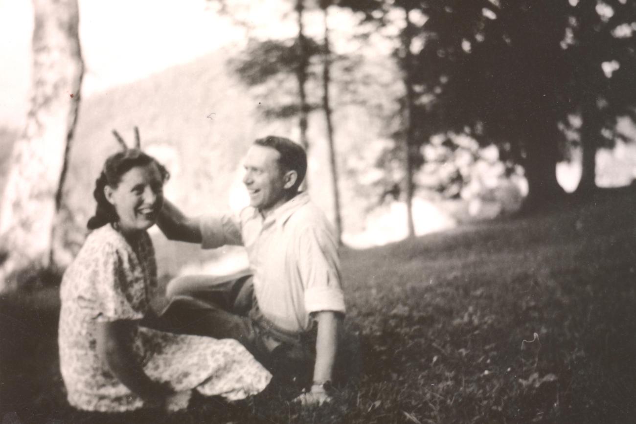 Rosi und Fritz Klampfl - frisch verliebt....